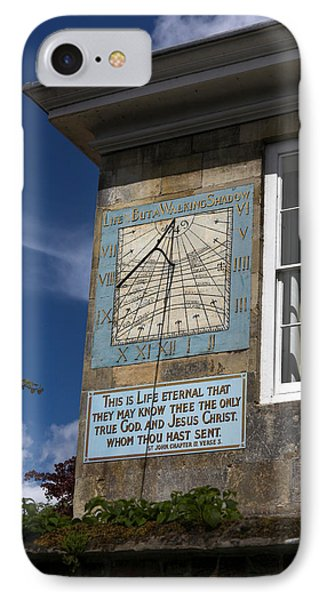 IPhone Case featuring the photograph Salisbury Sundial by Ross Henton