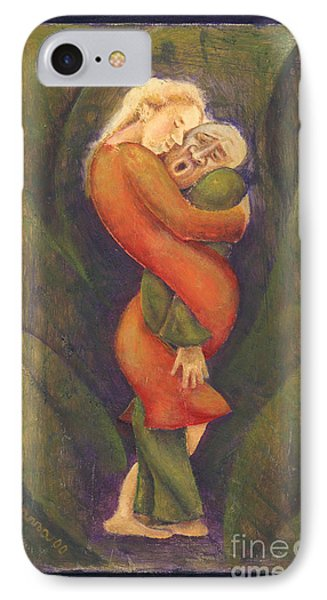 Sally Who Loves Too Much... IPhone Case by Anna Skaradzinska