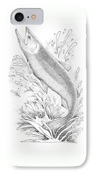 Salmon IPhone Case by Lawrence Tripoli