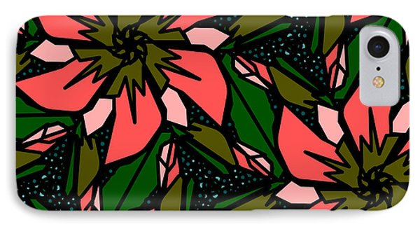 IPhone Case featuring the digital art Salmon-pink by Elizabeth McTaggart