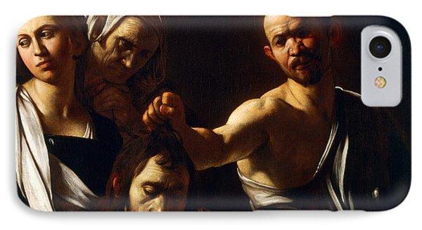 Salome Receives Head Of John The Baptist Phone Case by Michelangelo Merisi da Caravaggio