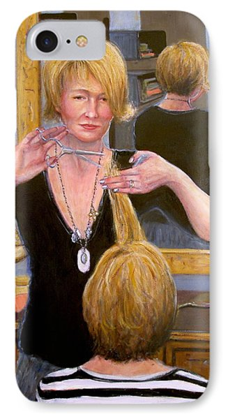 IPhone Case featuring the painting Salon #2 by Donelli  DiMaria
