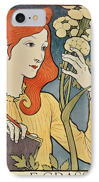Salon Des Cent IPhone Case by Eugene Grasset
