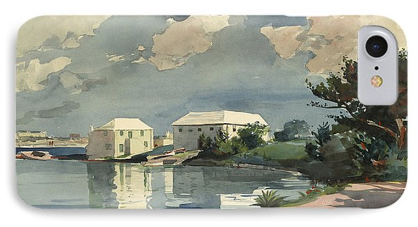 Salt Kettle Bermuda IPhone Case by Winslow Homer