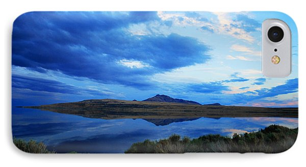 IPhone Case featuring the photograph Salt Lake Antelope Island by Matt Harang