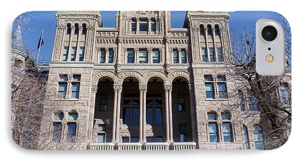 IPhone Case featuring the photograph Salt Lake City - City Hall - 2 by Ely Arsha