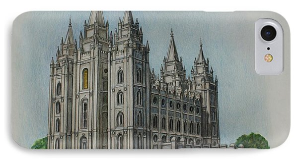 Salt Lake City Temple I IPhone Case
