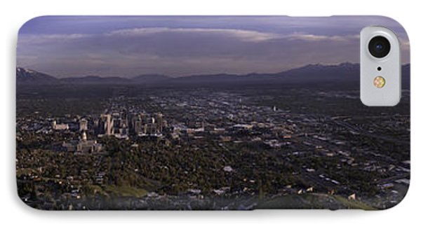 Salt Lake Valley IPhone Case by Chad Dutson
