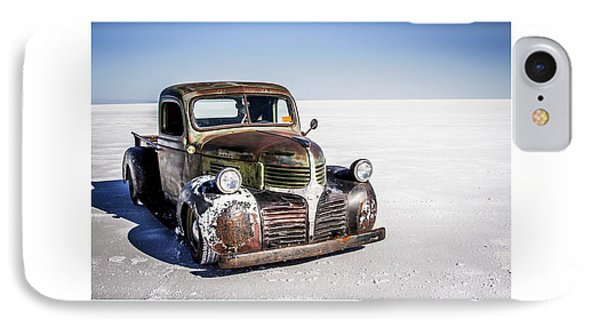 Salt Metal Pick Up Truck Phone Case by Holly Martin