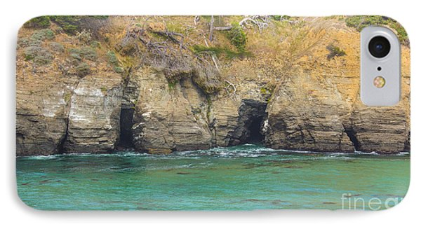 Salt Point Sea Caves IPhone Case by Suzanne Luft