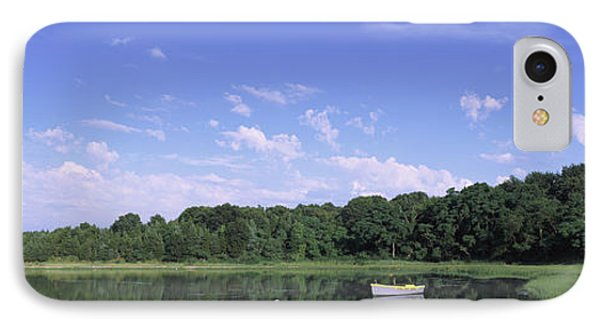 Salt Pond In A Forest, Massachusetts IPhone Case by Panoramic Images