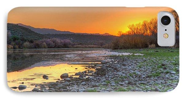 Salt River Bulldog Canyon IPhone Case by Martin Konopacki