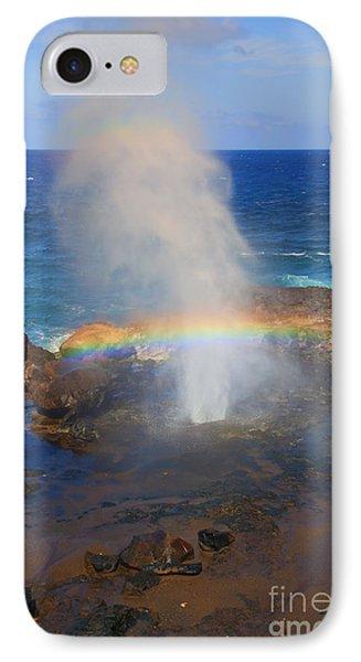 Salt Spray Rainbow Phone Case by Mike  Dawson