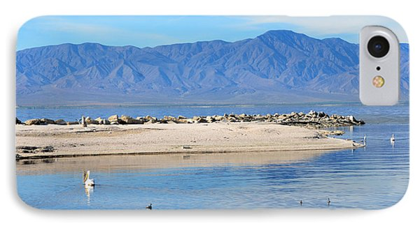 Salton Sea 2 Phone Case by Fraida Gutovich