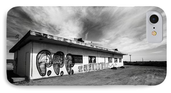 IPhone Case featuring the photograph Salton Sea Cafe by Robert  Aycock
