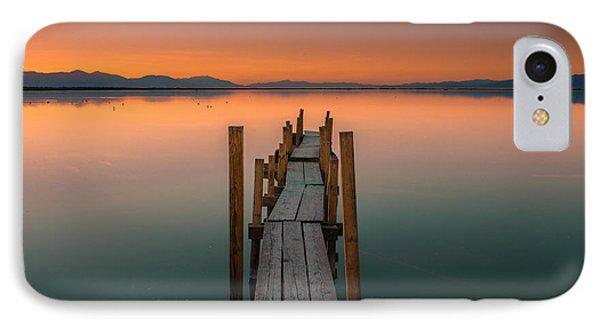 Salton Sea Dock IPhone Case by Ralph Vazquez