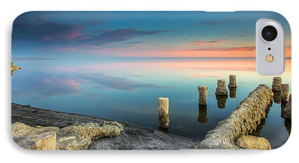 Salton Sea Reflections IPhone Case by Robert  Aycock