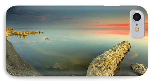 Salton Sea Sunset IPhone Case by Robert  Aycock