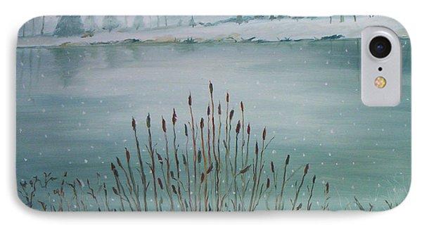 Saltville Pond Phone Case by Julie Brugh Riffey