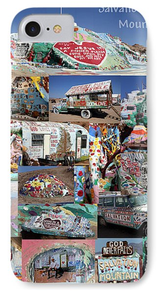 Salvation Mountain IPhone Case by David Salter