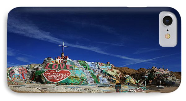 Salvation Mountain IPhone Case by Laurie Search
