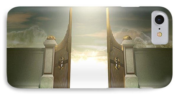 Salvations Open Gates IPhone Case by Allan Swart