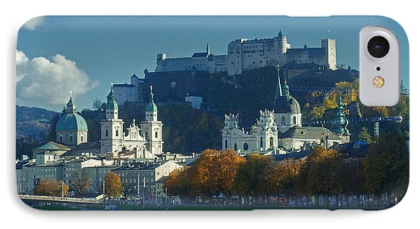Salzburg Austria In Fall Phone Case by Rudi Prott