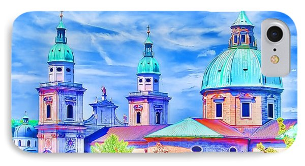 Salzburg Austria IPhone Case by Sabine Jacobs