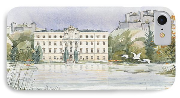 Salzburg Sound Of Music  IPhone Case by Clive Metcalfe