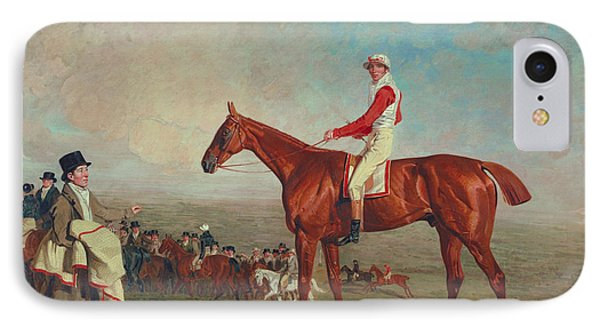 Sam With Sam Chifney, Jr., Up, 1818 IPhone Case by Benjamin Marshall
