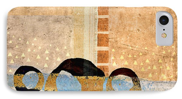 Same River Three Times IPhone Case by Carol Leigh
