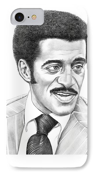 Sammy Davis Jr Phone Case by Murphy Elliott