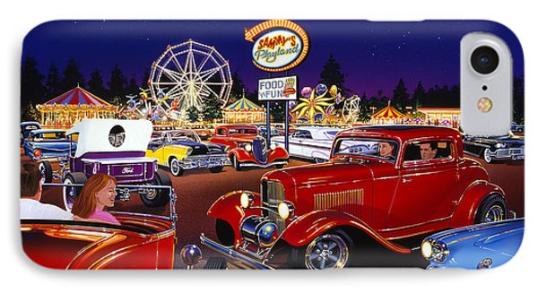 Sammy's Playland IPhone Case by Bruce Kaiser