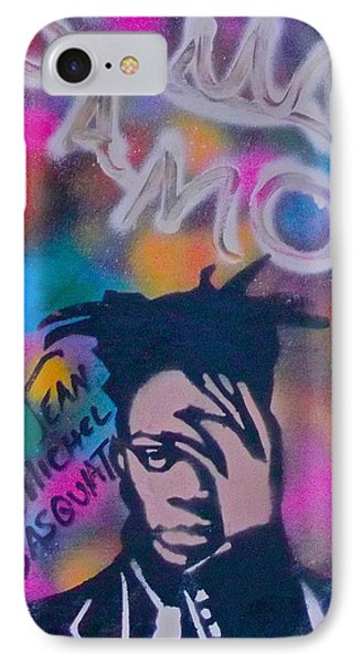 Samo Jean Basquait IPhone Case by Tony B Conscious