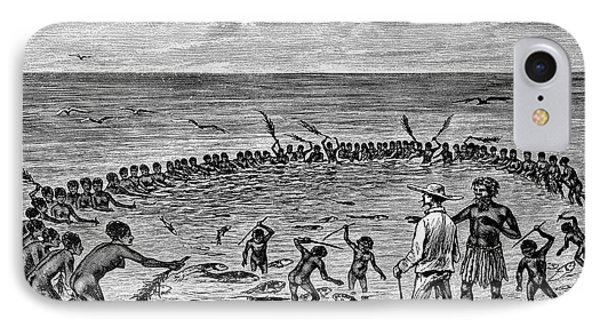 Samoans Fishing IPhone Case by Bildagentur-online/tschanz