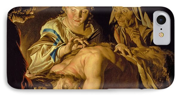 Samson And Delilah IPhone Case by Matthias Stomer