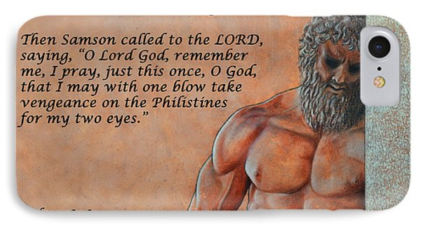 Samson's Prayer IPhone Case