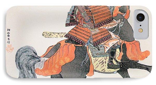 Samurai IPhone Case by Japanese School