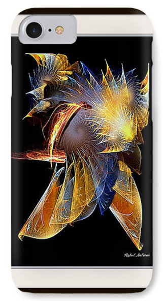 IPhone Case featuring the painting Samurai by Rafael Salazar