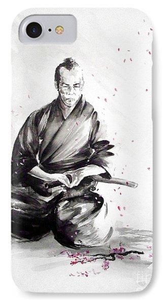 Samurai Warrior Japanese Martial Arts. Bushido. IPhone Case by Mariusz Szmerdt