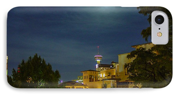 San Antonio Cityscape IPhone Case by Allen Sheffield