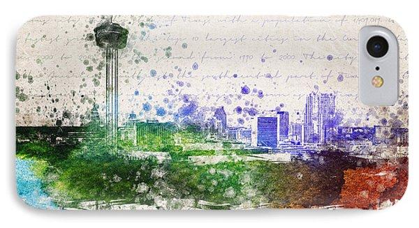 San Antonio In Color IPhone Case