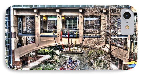 IPhone Case featuring the photograph San Antonio Riverwalk by Deborah Klubertanz