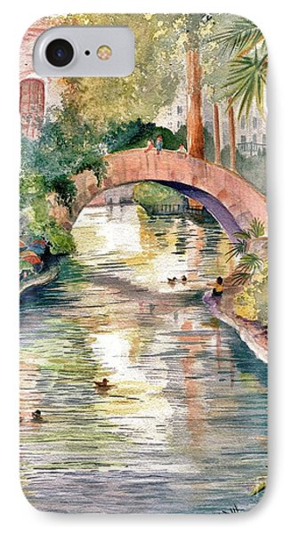 San Antonio Riverwalk IPhone Case by Marilyn Smith