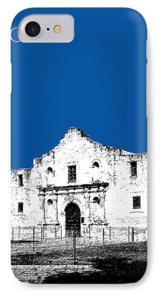 San Antonio The Alamo - Royal Blue IPhone Case