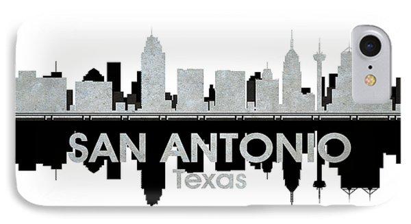 San Antonio Tx 4 IPhone Case by Angelina Vick