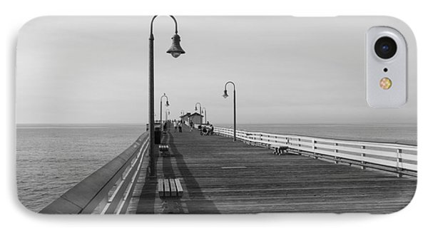 San Clemente Pier IPhone Case by Ana V Ramirez