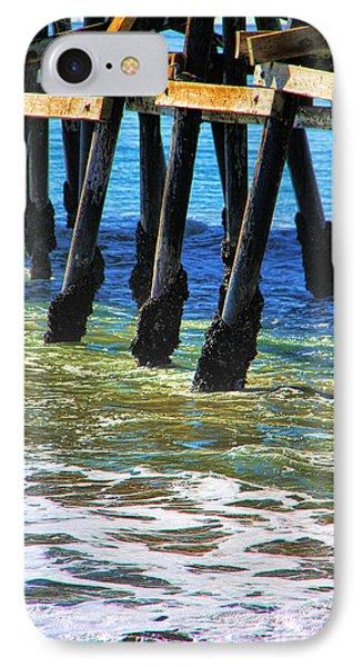San Clemente Pier Phone Case by Mariola Bitner