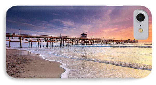 San Clemente Pier IPhone Case by Robert  Aycock