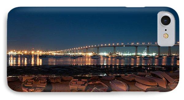 San Diego Bridge  IPhone Case by Gandz Photography